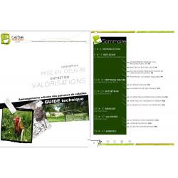 """Guide technique """"Parcours volailles"""""""