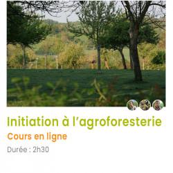 Initiation à l' agroforesterie